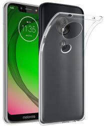 Motorola Moto G7 Play Hoesje Dun TPU Transparant