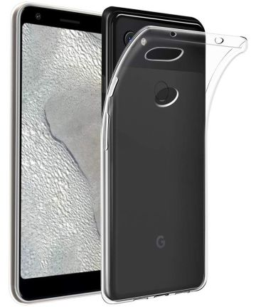 Google Pixel 3A XL Hoesje Dun TPU Transparant Hoesjes