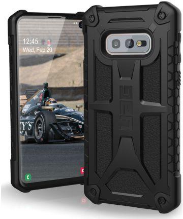 Urban Armor Gear Monarch Hoesje Samsung Galaxy S10E Black Hoesjes
