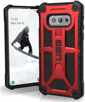 Urban Armor Gear Monarch Hoesje Samsung Galaxy S10E Crimson Hoesjes