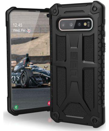 Urban Armor Gear Monarch Hoesje Samsung Galaxy S10 Black Hoesjes