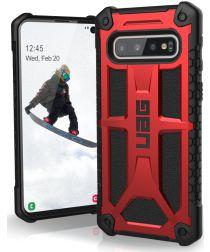 Urban Armor Gear Monarch Hoesje Samsung Galaxy S10 Crimson