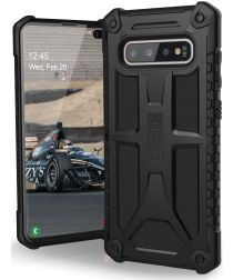 Urban Armor Gear Monarch Hoesje Samsung Galaxy S10 Plus Black