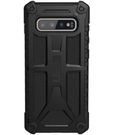 Urban Armor Gear Monarch Hoesje Samsung Galaxy S10 Plus Black Hoesjes