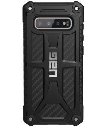 Urban Armor Gear Monarch Hoesje Samsung Galaxy S10 Plus Carbon