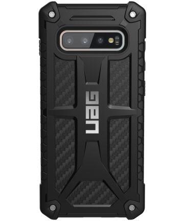Urban Armor Gear Monarch Hoesje Samsung Galaxy S10 Plus Carbon Hoesjes