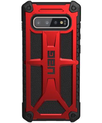 Urban Armor Gear Monarch Hoesje Samsung Galaxy S10 Plus Crimson Hoesjes