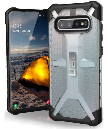 Urban Armor Gear Plasma Hoesje Samsung Galaxy S10 Plus Ice