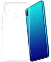 Huawei Y7 (2019) Hoesje Dun TPU Transparant