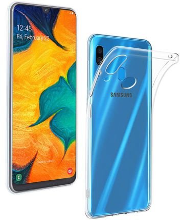 Samsung Galaxy A40 Hoesje Dun TPU Transparant