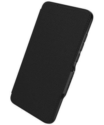 Gear4 D3O Oxford Book Case Hoesje Huawei P30 Lite Zwart Hoesjes
