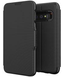 Gear4 D3O Oxford Book Case Hoesje Samsung Galaxy S10E Zwart
