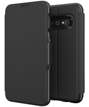 Gear4 D3O Oxford Book Case Hoesje Samsung Galaxy S10E Zwart Hoesjes