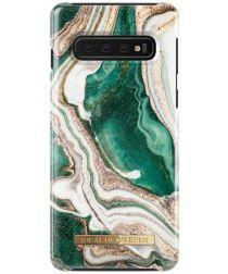 iDeal of Sweden Samsung Galaxy S10 Fashion Hoesje Golden Jade