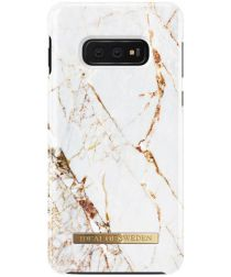 iDeal of Sweden Samsung Galaxy S10E Fashion Hoesje Carrara Gold