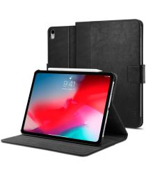Spigen Stand Folio Apple iPad Pro 11 2018 / Air 2020 Hoes Zwart