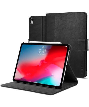 Spigen Stand Folio Apple iPad Pro 11 2018 / Air 2020 Hoes Zwart Hoesjes