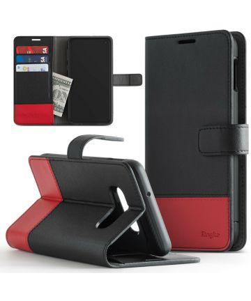 Ringke Wallet Samsung Galaxy S10 Book Case Zwart Hoesjes