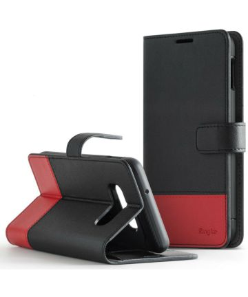 Ringke Wallet Samsung Galaxy S10 Plus Book Case Zwart Hoesjes