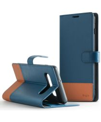 Ringke Wallet Samsung Galaxy S10 Plus Book Case Blauw