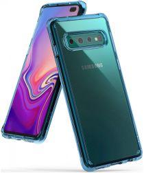 Ringke Fusion Samsung Galaxy S10 Plus Hoesje Blauw