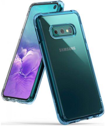 Ringke Fusion Samsung Galaxy S10E Hoesje Blauw Hoesjes
