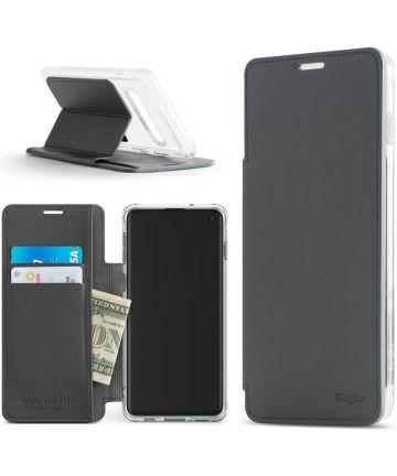Ringke Wallet Fit Samsung Galaxy S10 Plus Book Case Grijs Hoesjes