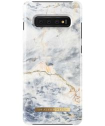iDeal of Sweden Samsung Galaxy S10 Plus Fashion Hoesje Ocean Marble