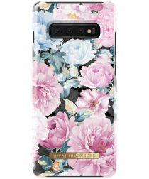 iDeal of Sweden Samsung Galaxy S10 Plus Fashion Hoesje Peony Garden