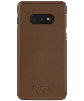 iDeal of Sweden Samsung Galaxy S10E Fashion Hoesje Como Bruin Hoesjes