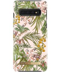 iDeal of Sweden Samsung Galaxy S10 Plus Fashion Hoesje Pastel Savanna