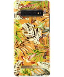 iDeal of Sweden Samsung Galaxy S10 Plus Fashion Hoesje Mango Jungle