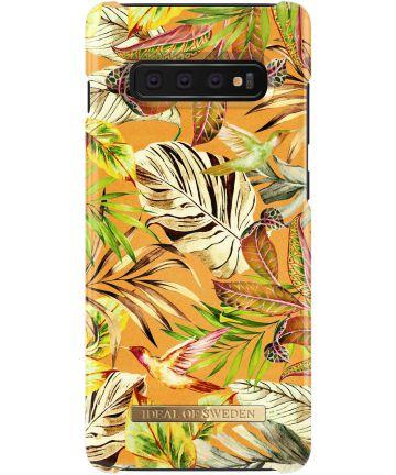 iDeal of Sweden Samsung Galaxy S10 Plus Fashion Hoesje Mango Jungle Hoesjes