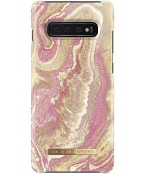 iDeal of Sweden Samsung Galaxy S10 Plus Fashion Hoesje Golden Blush