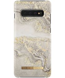 iDeal of Sweden Samsung Galaxy S10 Plus Fashion Hoesje Sparkle Greige
