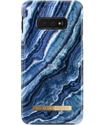 iDeal of Sweden Samsung Galaxy S10E Fashion Hoesje Indigo Swirl