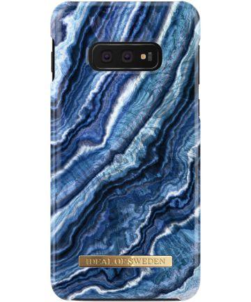 iDeal of Sweden Samsung Galaxy S10E Fashion Hoesje Indigo Swirl Hoesjes