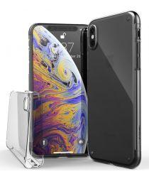 X-Doria Defense 360° Hoesje Apple iPhone XS / X Transparant