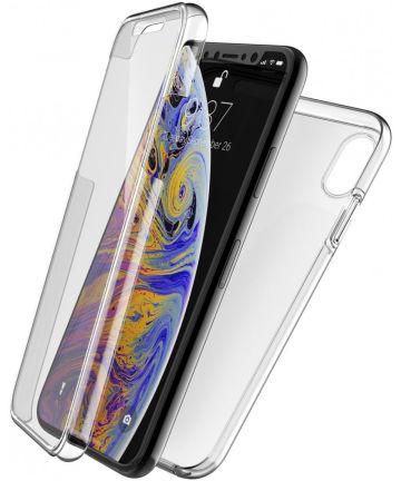 Raptic 360x Apple iPhone XS/X hoesje transparant Hoesjes