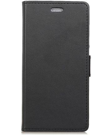 Motorola Moto G7 Power Wallet Stand Hoesje Zwart Hoesjes
