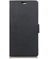 Motorola Moto Z4 Play Wallet Stand Hoesje Zwart