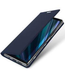 Dux Ducis Skin Pro Series Flip Hoesje Sony Xperia 1 Blauw
