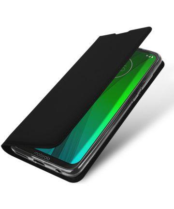 Dux Ducis Premium Book Case Motorola Moto G7 / G7 Plus Hoesje Zwart Hoesjes