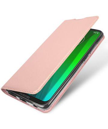 Dux Ducis Premium Book Case Motorola Moto G7 / G7 Plus Hoesje Roze