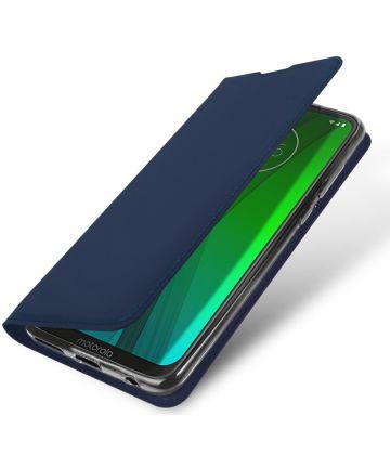 Dux Ducis Premium Book Case Motorola Moto G7 / G7 Plus Hoesje Blauw Hoesjes