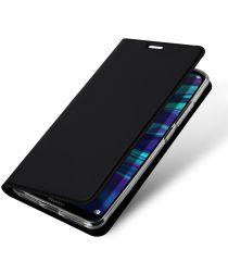 Dux Ducis Premium Book Case Huawei Y7 (2019) Hoesje Zwart