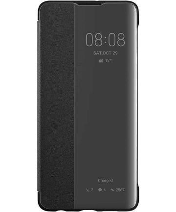 Originele Huawei P30 Smart View Flip Hoesje Zwart Hoesjes