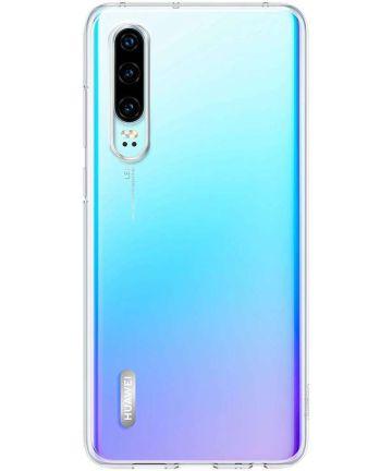 Originele Huawei P30 Clear Hoesje Transparant Hoesjes