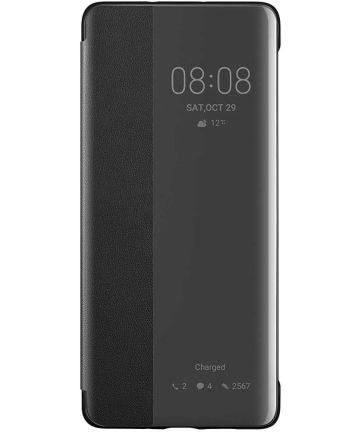 Originele Huawei P30 Pro Smart View Flip Hoesje Zwart Hoesjes