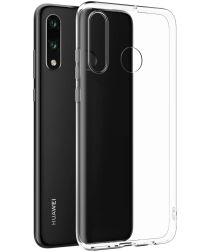 Originele Huawei P30 Lite TPU Hoesje Transparant